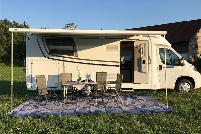 Campen mit dem Wohnmobil von BreKeDo