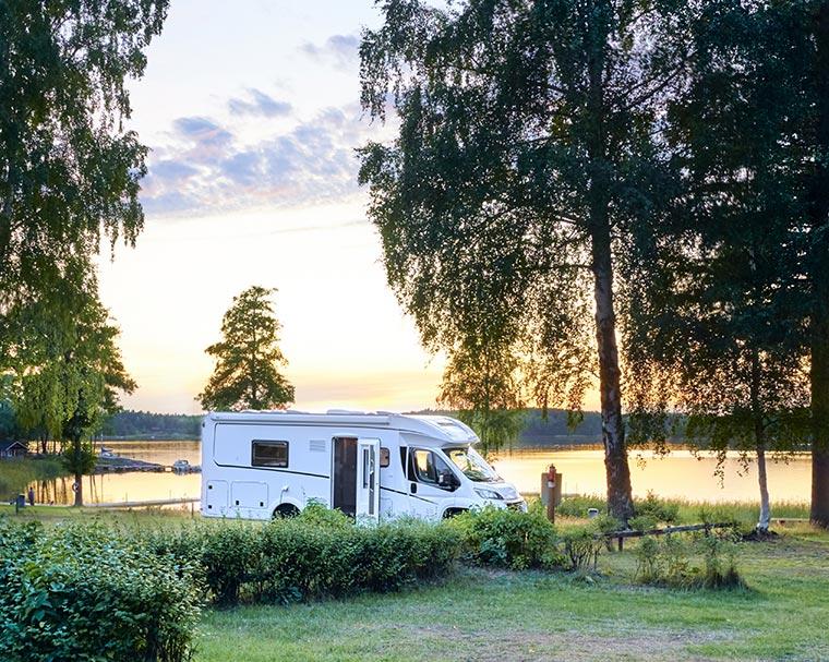 Urlaub am See mit dem Wohnmobil von BreKeDo